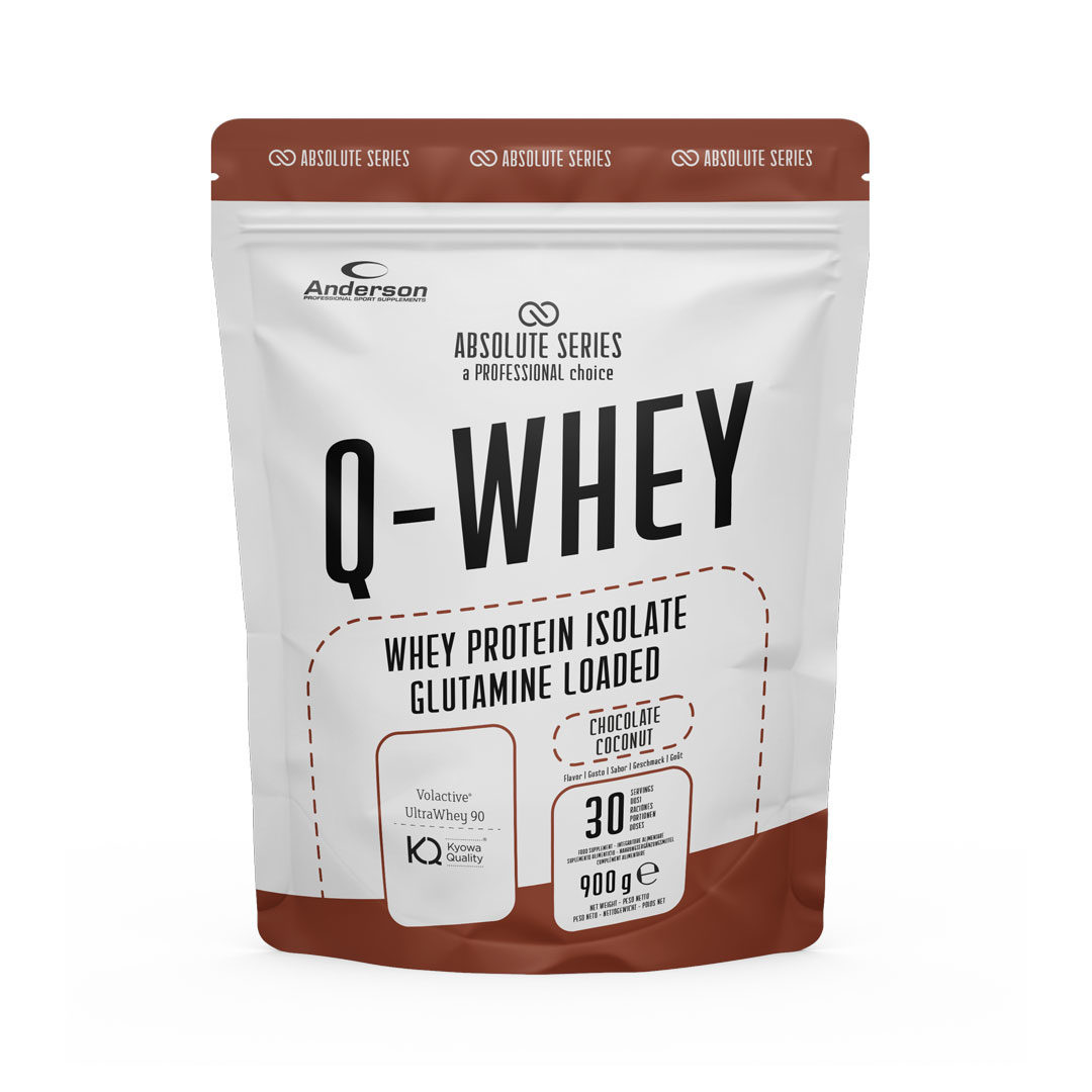 Proteine whey Q-WHEY - Proteine del siero del latte isolate