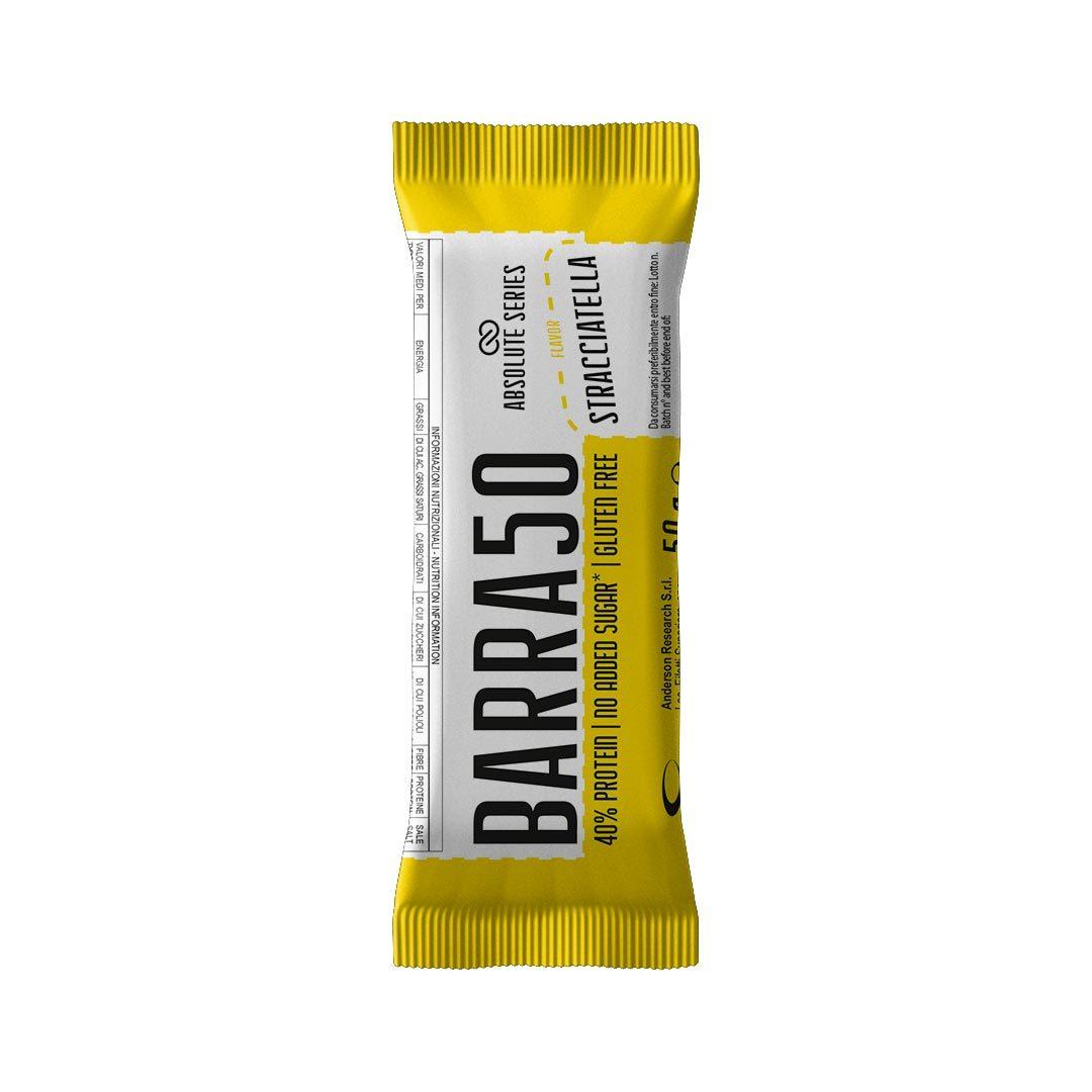 Barrette proteiche - BARRA50 - Gusto Stracciatella