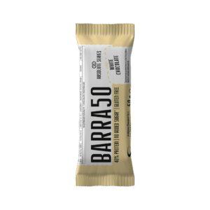 Barrette proteiche - BARRA50 - Gusto White Chocolate-Cioccolato Bianco