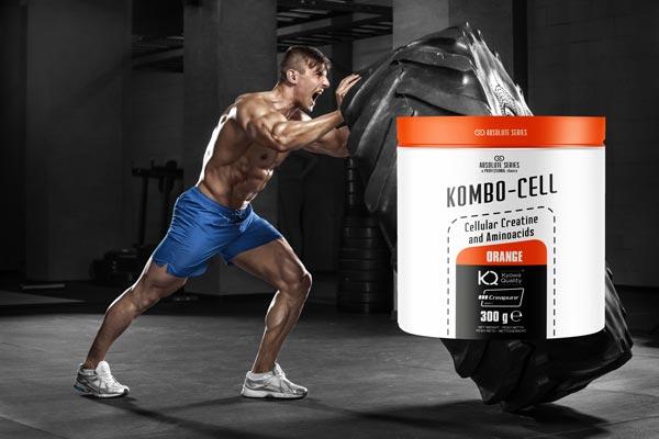 Creatina e Aminoacidi - Kombo Cell